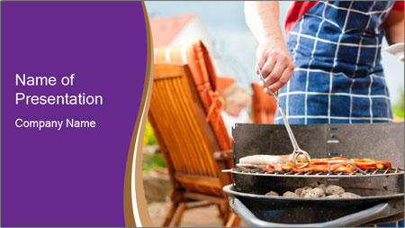 Barbecue PowerPoint Template