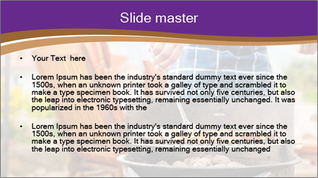 Barbecue PowerPoint Template - Slide 2