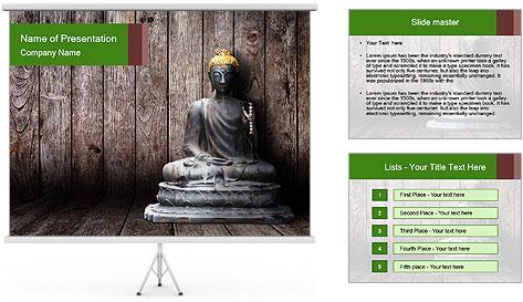 Rusty Buddha PowerPoint Template
