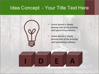 Rusty Buddha PowerPoint Template - Slide 80