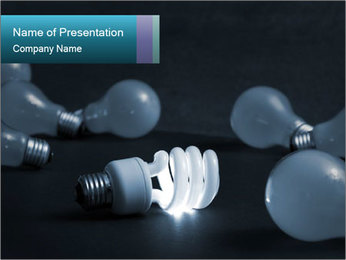 New energy PowerPoint Template - Slide 1