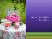Picnic table PowerPoint Templates