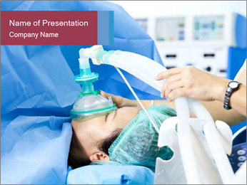 Ventilation in hospital PowerPoint Template