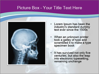 X-ray of head PowerPoint Template - Slide 13