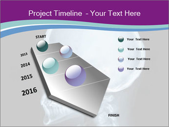 X-ray of head PowerPoint Template - Slide 26