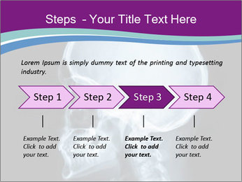 X-ray of head PowerPoint Template - Slide 4