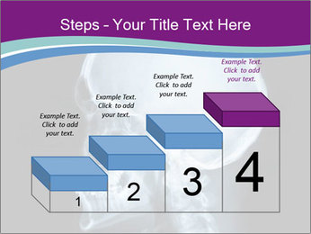 X-ray of head PowerPoint Template - Slide 64