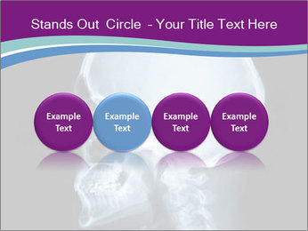 X-ray of head PowerPoint Template - Slide 76