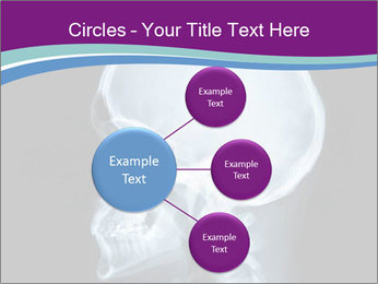 X-ray of head PowerPoint Template - Slide 79