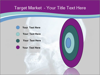 X-ray of head PowerPoint Template - Slide 84