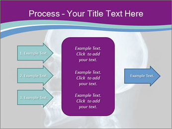 X-ray of head PowerPoint Template - Slide 85