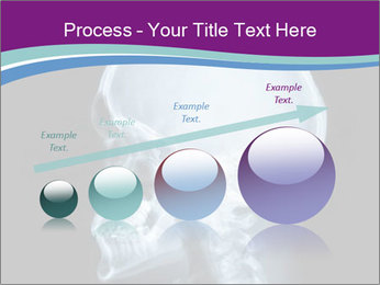 X-ray of head PowerPoint Template - Slide 87