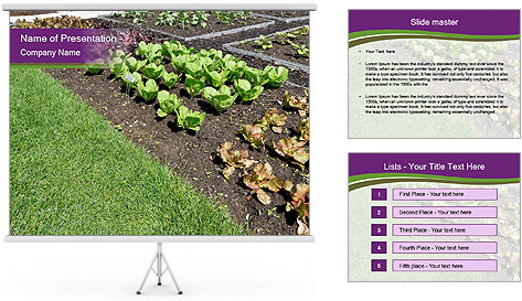 Garden PowerPoint Template