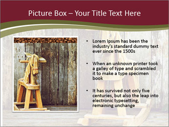 Old rocking horse PowerPoint Template - Slide 13