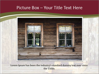 Old rocking horse PowerPoint Template - Slide 15