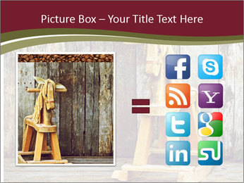 Old rocking horse PowerPoint Template - Slide 21