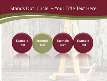 Old rocking horse PowerPoint Template - Slide 76