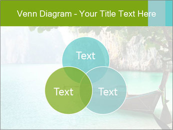 Long boat on island PowerPoint Template - Slide 33