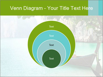 Long boat on island PowerPoint Template - Slide 34