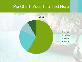 Long boat on island PowerPoint Template - Slide 36