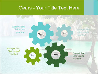 Long boat on island PowerPoint Template - Slide 47