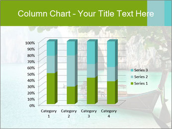 Long boat on island PowerPoint Template - Slide 50
