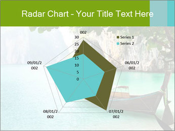 Long boat on island PowerPoint Template - Slide 51