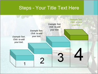 Long boat on island PowerPoint Template - Slide 64