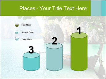 Long boat on island PowerPoint Template - Slide 65