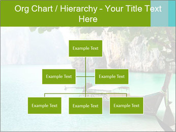 Long boat on island PowerPoint Template - Slide 66