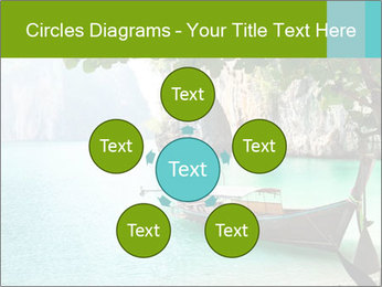 Long boat on island PowerPoint Template - Slide 78