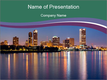 City PowerPoint Template - Slide 1