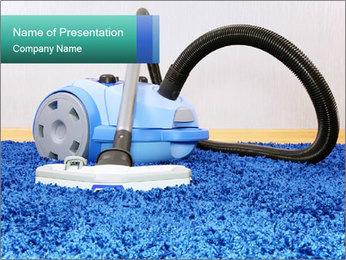 Vacuum cleaner PowerPoint Template - Slide 1