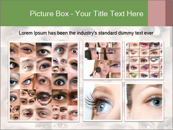 Female eyes. PowerPoint Templates - Slide 19
