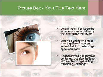Female eyes. PowerPoint Templates - Slide 20