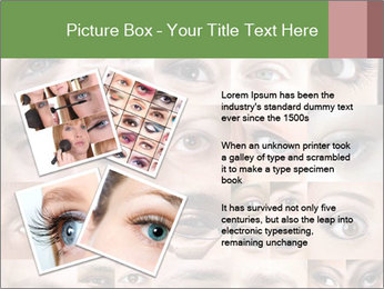 Female eyes. PowerPoint Templates - Slide 23