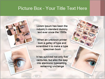 Female eyes. PowerPoint Templates - Slide 24