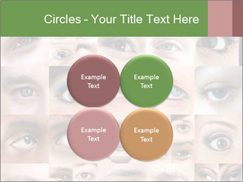 Female eyes. PowerPoint Templates - Slide 38