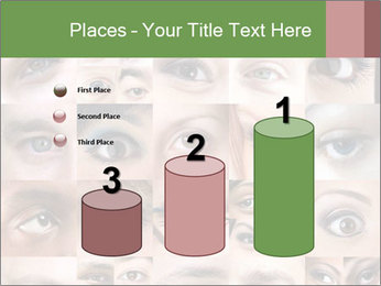 Female eyes. PowerPoint Templates - Slide 65