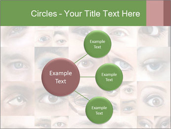 Female eyes. PowerPoint Templates - Slide 79