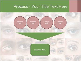 Female eyes. PowerPoint Templates - Slide 93