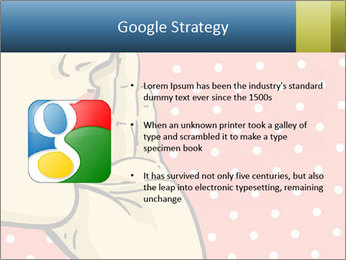 Woman gossip PowerPoint Templates - Slide 10