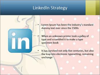 Woman gossip PowerPoint Templates - Slide 12