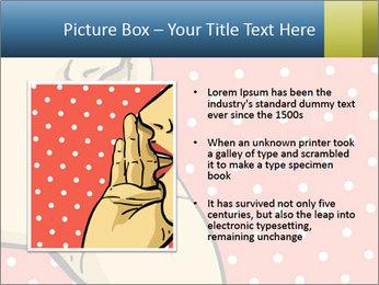 Woman gossip PowerPoint Templates - Slide 13