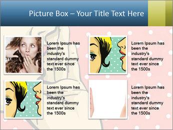 Woman gossip PowerPoint Templates - Slide 14