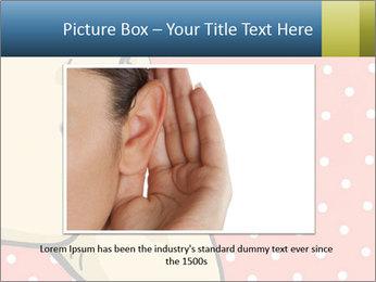 Woman gossip PowerPoint Templates - Slide 15