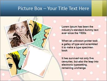 Woman gossip PowerPoint Templates - Slide 23