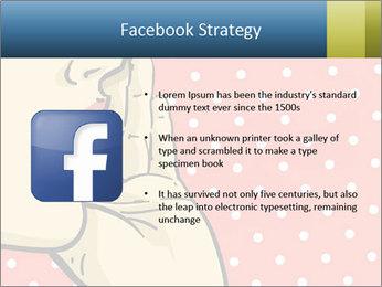 Woman gossip PowerPoint Templates - Slide 6