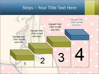 Woman gossip PowerPoint Templates - Slide 64