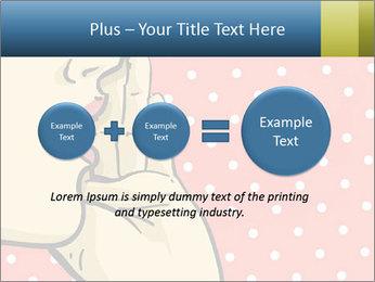Woman gossip PowerPoint Templates - Slide 75